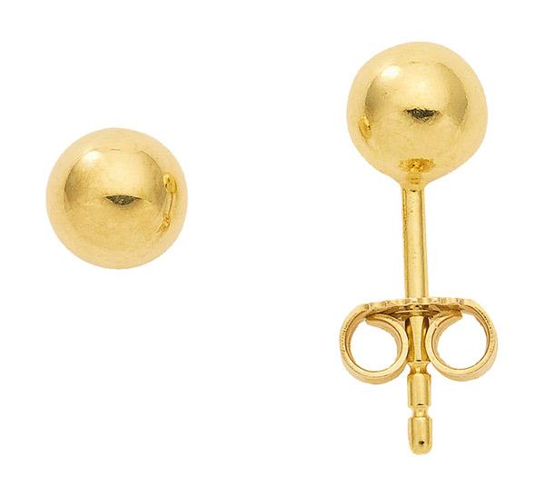 goldene stecker ohrringe