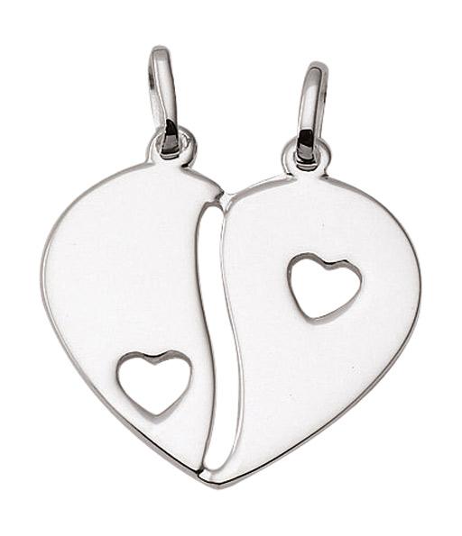 Kettenanhänger  Herz Kettenanhänger aus Silber (AN130801) Großhandel | Großhändler ...