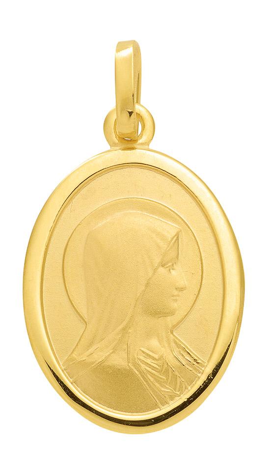 Madonna Medaille aus Gold