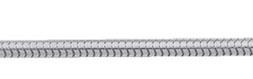 Schlange Collier Kette aus Silber