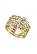 Ring aus Silber mit Zirkonia (21-212)