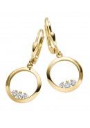 Ohrhänger aus Gold mit Zirkonia (21-242)