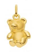 Bär Kettenanhänger aus Gold