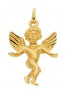 Engel Kettenanhänger aus Gold