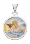 Amor Medaille aus Silber
