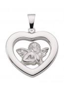 Amor Kettenanhänger aus Silber