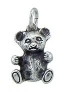 Bär Kettenanhänger aus Silber