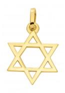 Davidstern Kettenanhänger aus Gold