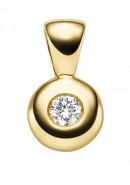 Kettenanhänger aus Gold mit Brillant