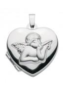 Herz Medaillon aus Silber