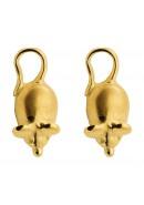 Maus Ohrstecker aus Gold