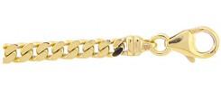 Flachpanzer Collier aus Gold